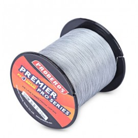 image of PROBEROS 300M DURABLE PE 4 STRANDS BRAIDED FISHING LINE ANGLING ACCESSORIES (GRAY)