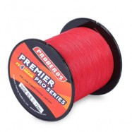 image of PROBEROS 300M DURABLE PE 4 STRANDS BRAIDED FISHING LINE ANGLING ACCESSORIES (RED) 0.4#