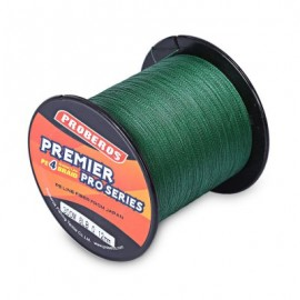 image of PROBEROS 300M DURABLE PE 4 STRANDS BRAIDED FISHING LINE ANGLING ACCESSORIES (GREEN) 0.4#