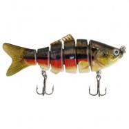 image of HIGH QUALITY 6 SEGMENT SWIMBAIT LURES HARD BAIT MULTI-JOINTED FISHING LURE (MULTICOLOR) 0