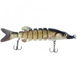 image of ABS MATERIAL 8 SEGMENT SWIMBAIT LIFELIKE HARD LURES JOINTED FISHING LURE FOR BASS TROUT (MULTICOLOR) 0