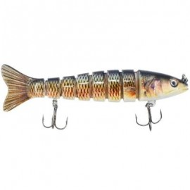 image of SEGMENT SWIMBAIT LIFELIKE HARD LURES JOINTED FISHING LURE FOR BASS TROUT (MULTICOLOR) 0