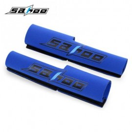 image of SAHOO 2PCS OUTDOOR MTB BIKE BICYCLE ANTI COLLISION FRONT FORK PROTECTOR (BLUE) 26.00 x 15.50 x 1.00 cm