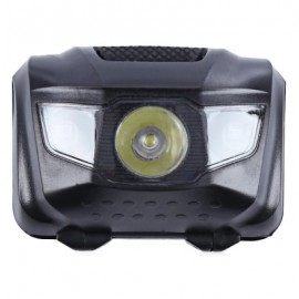image of 3-LED BICYCLE LIGHT WATER RESISTANT TORCH WITH MOUNT FLASH (BLACK)