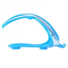 image of BASECAMP STRONG TOUGHNESS STRETCHABLE BIKE BOTTLE CAGE CYCLING PART EQUIPMENT (BLUE)