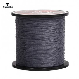 image of TRIPOSEIDON 300M SUPER STRONG PE BRAIDED FISHING LINE (GRAY) 1.0