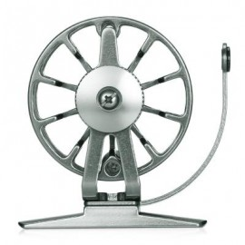 image of RIGHT HAND FULL METAL ULTRA-LIGHT FORMER FLY FISHING REEL (GUN METAL) 0