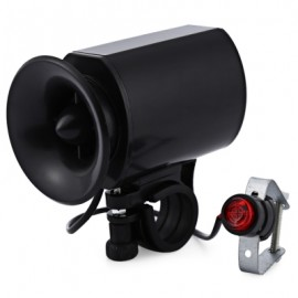 image of BICYCLE BIKE ULTRA-LOUD BELL ELECTRONIC HORN ALARM SIREN (BLACK)