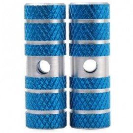 image of 2PCS AXLE FOOT PEGS STUNT PEDAL FOR BMX MOUNTAIN BIKE BICYCLE CYCLING (BLUE)