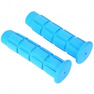 image of PAIRED SOFT CYCLING ADHESIVE PERFORMANCE RUBBER HANDLEBAR GRIP (BLUE)