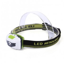 image of MINI OUTDOOR CYCLING WATER RESISTANT LED HEADLIGHT BICYCLE ACCESSORY (GREEN)