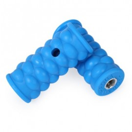 image of 2PCS BICYCLE CYCLING MOUNTAIN BIKE PLASTIC WHEEL PEDALS FOOT PEGS (BLUE)