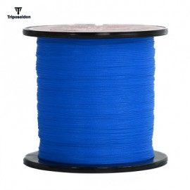image of TRIPOSEIDON 300M SUPER STRONG PE BRAIDED FISHING LINE (BLUE) 4.0