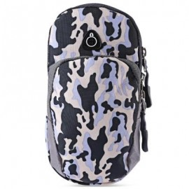 image of OUTDOOR SPORT CELLPHONE BAG RUNNING WRIST POUCH (CAMOUFLAGE GRAY) -