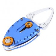 image of ULTRALIGHT FISHING GRIP TONGS CRAMPON CLIPPER OUTDOOR ACCESSORY (BLUE) -