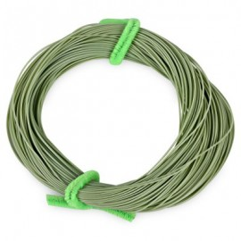 image of FL001 30.5M WEIGHT FORWARD FLOATING FLY FISHING STRING (GRASS GREEN) LINE NUMBER 4.0