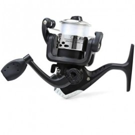 image of JL200 ELECTROPLATING FISHING SPINNING REEL (SILVER) 10.00 x 10.00 x 6.00 cm