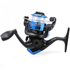 image of JL200 ELECTROPLATING FISHING SPINNING REEL (BLUE) 10.00 x 10.00 x 6.00 cm