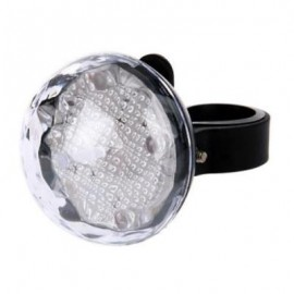 image of SUPER BRIGHT BICYCLE BIKE 5 LEDS REAR TAIL LIGHT FLASH WARNING LAMP (WHITE)