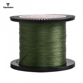 image of TRIPOSEIDON 500M SUPER STRONG 4 STRANDS PE BRAIDED FISHING LINE (GREEN) 2.0