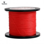 image of TRIPOSEIDON 500M SUPER STRONG 4 STRANDS PE BRAIDED FISHING LINE (RED) 0.6
