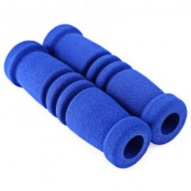 image of 1 PAIR SPONGE MTB BIKE BICYCLE HANDLEBAR COVER (BLUE)