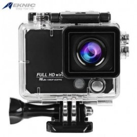 image of EKNIC X5 4K WIFI ACTION 170 DEGREE FULL HD SPORTS CAMERA WITH REMOTE CONTROLLER (BLACK)