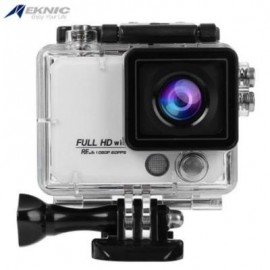 image of EKNIC X5 4K WIFI ACTION 170 DEGREE FULL HD SPORTS CAMERA WITH REMOTE CONTROLLER (WHITE)