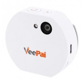 image of VEEPAI Z2 WEARABLE DIGITAL ACTION SPORT 1080P HD CAMERA WITH MICROPHONE (WHITE)