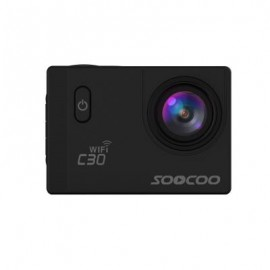 image of SOOCOO C30 SPORTS ACTION CAMERA WIFI 4K NTK96660 ADJUSTABLE VIEWING ANGLES(70-170 DEGREES) (BLACK)