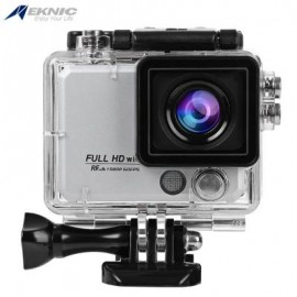 image of EKNIC X5 4K WIFI ACTION 170 DEGREE FULL HD (SILVER) 8.30 x 7.00 x 4.50 cm
