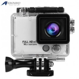 image of EKNIC X5 4K WIFI ACTION 170 DEGREE FULL HD (WHITE) 8.30 x 7.00 x 4.50 cm