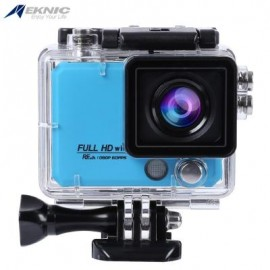 image of EKNIC X5 4K WIFI ACTION 170 DEGREE FULL HD (BLUE) 8.30 x 7.00 x 4.50 cm