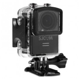 image of ORIGINAL SJCAM M20 2160P 16MP 166 ADJUSTABLE DEGREE WIFI ACTION CAMERA BUILT-IN GYROMETER ANTI-SHAKE SPORT DV RECORDER WITH 1.5 INCH LCD SCREEN (BLACK)