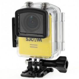 image of ORIGINAL SJCAM M20 2160P 16MP 166 ADJUSTABLE DEGREE WIFI ACTION CAMERA BUILT-IN GYROMETER ANTI-SHAKE SPORT DV RECORDER WITH 1.5 INCH LCD SCREEN (YELLOW)