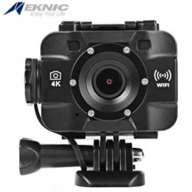image of EKNIC X7 PLUS WIFI 4K ULTRA HD ACTION SPORTS CAMERA 20M WATER RESISTANT 170 DEGREE WIDE ANGLE LENS (BLACK)