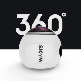 image of SJCAM SJ360 360 DEGREE PANORAMA WIFI ACTION SPORT CAMERA FISHEYE LENS 2K VR VIDEO RECORDING (WHITE)