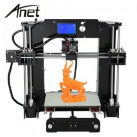 image of ANET A6 3D DESKTOP PRINTER KIT LCD CONTROL SCREEN DISPLAY (BLACK) EU PLUG
