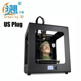image of CREALITY3D CR - 2020 200 X 200 X 200MM COMPLETE 3D PRINTER SUPPORT OFF-LINE PRINTING (BLACK) US PLUG