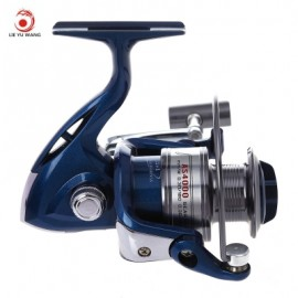 image of LIE YU WANG AS 12 + 1 BEARINGS ALUMINIUM ALLOY CUP SPINNING REEL (LIGHT BLUE) AS4000