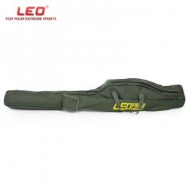 image of LEO 1M / 1.5M FOLDABLE FISHING ROD BAG FISH POLE HOLDER (ARMY GREEN) 1.5M