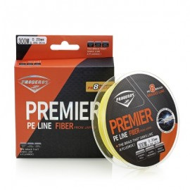 image of PROBEROS STRONG 300M 8 STRAND WEAVE PE BRAIDED FISHING LINE (YELLOW) 5(60LB)