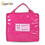 image of GUAPABIEN INSULATION HANDBAG MINAUDIERE COOLER LUNCH BAG (TUTTI FRUTTI) BIG