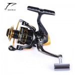 DIAO DE LAI 12 + 1 BALL BEARINGS COIL WHEEL TACKLES METAL SPOOL SPINNING FISHING REEL (COLORMIX, 1000/2000/3000/4000/5000/6000) 1000