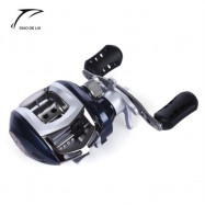 image of DIAO DE LAI 6.3:1 6 + 1 BALL BEARINGS HIGH SPEED LEFT RIGHT HAND BAIT CASTING FISHING REEL (BLUE) LEFT