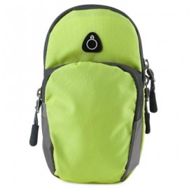 image of OUTDOOR SPORT CELLPHONE BAG RUNNING WRIST POUCH (GREEN) -