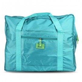 image of MULTIPURPOSE TRAVEL FOLDING WATER RESISTANT STORAGE BAG (BLUE) -