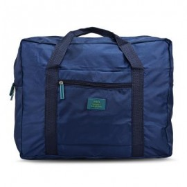 image of MULTIPURPOSE TRAVEL FOLDING WATER RESISTANT STORAGE BAG (PURPLISH BLUE) -