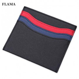 image of FLAMA STYLISH WAVE PATTERN WALLETS LIGHT CARD COVER 12.10 x 0.60 x 9.70 cm
