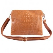 image of SIMPLE CROCODILE PATTERN PURE COLOR AMPHIBIOUS BAG FOR LADIES -